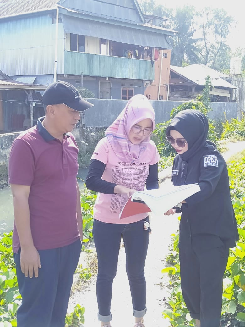 Visitasi Kawasan Kumuh Danga dan Kawasan Sekitar Kanal Rimuku Kabupaten Mamuju Provinsi Sulawesi Barat