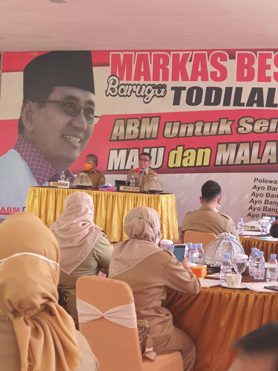 Rapat Pimpinan (RAPIM) Provinsi Sulawesi Barat di kediaman Gubernur Sulawesi Barat, Matakali Polewali Mandar